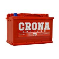 Automobile battery CRONA 6ST-75Ah AZE 600A (EN) 575 73 04