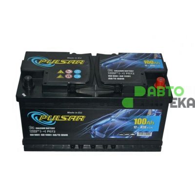 Automobile battery Pulsar 6ST-100Ah AZE 820A (EN) R092636KN1