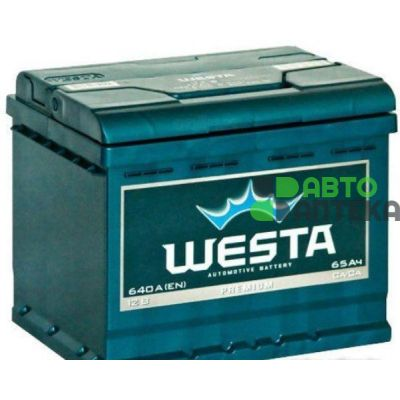 Automobile battery Westa 6CT-65Ah Az 640A (EN)