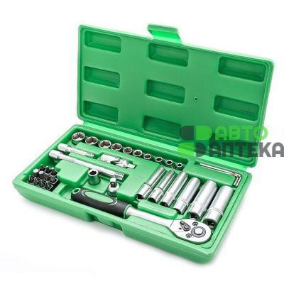 "Tool kit 36 ​​pieces, 1/4 ""INTERTOOL ET-6036"