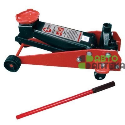 Jack Hydraulic movable 2.25 m lifting height of 495 mm, prof. INTERTOOL GT0135