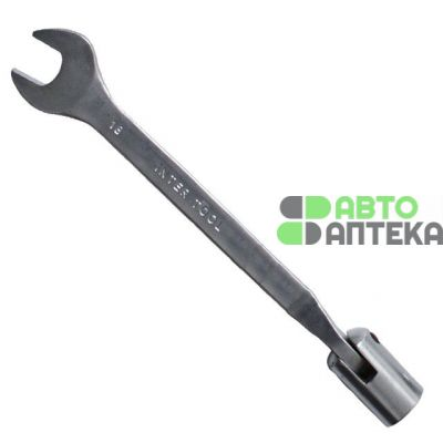 Wrench-swivel hinge 18 mm Cr-V, Cr-coated satin INTERTOOL XT-1418