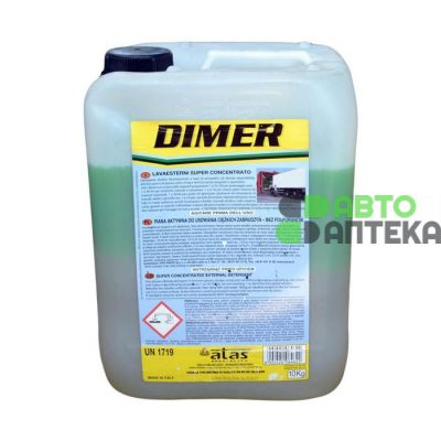 Concentrate Atas Dimer wash trucks tarpaulins 10kg