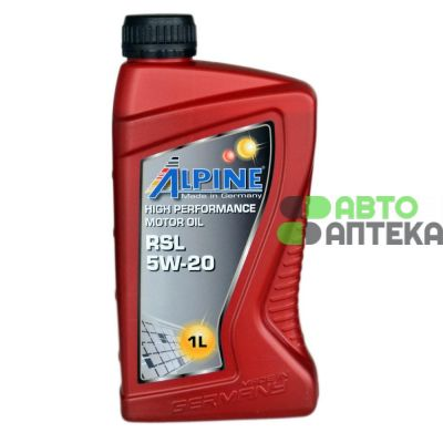 Automotive engine oil Alpine RSL 5W-20 1l