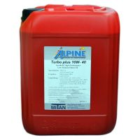 Automotive engine oil Alpine Turbo Plus 10W-40 10l