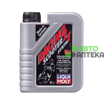 Масло моторное Liqui Moly MOTORBIKE 2T SYNTH SCOOTER STREET RACE 1л (3990)