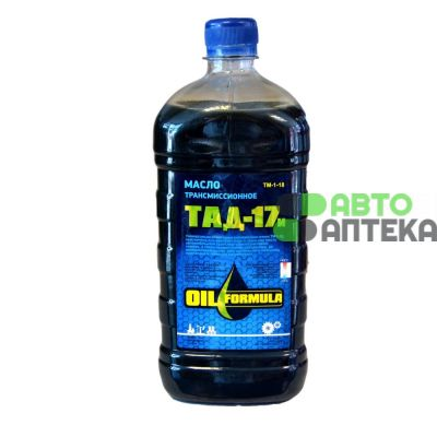 Transmission oil OIL Formula TAD-17 and 85W-90 GL-5 1L